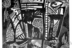 «Рыба-кит», 2004, X3, 40x42