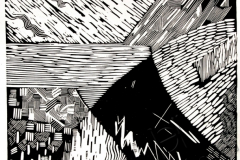 «Сотворение 2 часть», 2004, X3, 31,5x31,5
