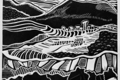 «Зигальга. Каменная речка1», 2016, X3, 40x32