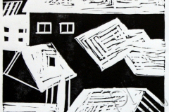 «Крыши 3», 2013, X3, 10x10