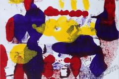 """""""Ночь в городе 1"""", 2009, бум./монотипия"""