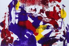 """""""Ночь в городе 3"""", 2009, бум./монотипия"""