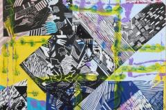 """""""Композиция 2"""", 2010, бум./смеш. техника"""