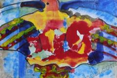 """""""Феникс"""", 2012, бум./смеш. техника"""
