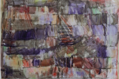 """""""Ночные думы 2"""", 2011, бум./акварель, 25x36"""