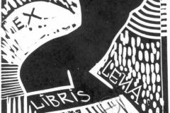 «Эксклибрис Леуа», 2003, X3, 10x9,5