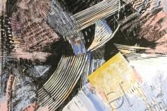 «Любовь 2», 2004, смешанная техника, 32x32