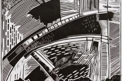 «Небесный мост», 2004, X3, 38x39