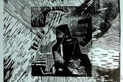 «Сотворение 1», 2005, X3, 31,5x31,5