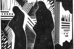 «Память. Печаль 3», 2005, X3, 14,5x17