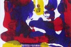 """""""Ночь в городе 2"""", 2009, бум./монотипия"""