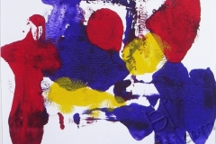 """""""Ночь в городе 4"""", 2009, бум./монотипия"""