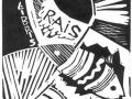 «Эксклибрис Раиса», 2003, X3, 10x9
