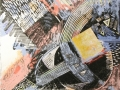 «Любовь 1», 2004, смешанная техника, 32x32