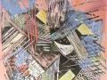 «Любовь 3», 2004, смешанная техника, 32x32