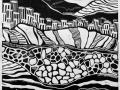 «Зигальга. Каменная речка2», 2016, X3, 40x32
