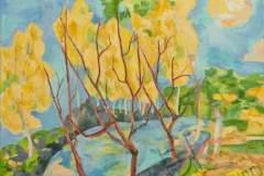 «Осень», 2000, х/м, 70х65