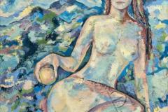 «Ева», 2003, х/м, 65х64,5