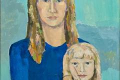 «Джоконда минус», 2008, х/м, 50х70