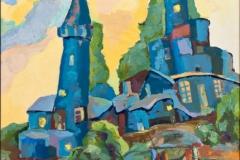 «Старый город», 2008, х/м, 70х50