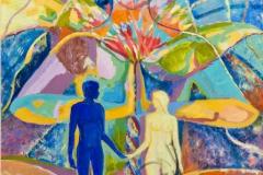 «Адам и Ева», 2011, х/м, 80х60