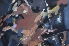 «Композиция 1», январь 2013, х/м, 50х40