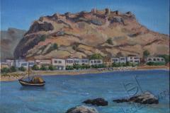 «Хараки. Замок Фераклос», июнь 2014, к/м, 30х40