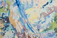 «Начало», 2003, х/м, 110х90