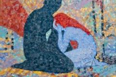 «Рождение Адама и Евы», 2009, х/м, 80х100