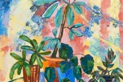 «Из жизни растений 2», 2011, х/м, 60х60