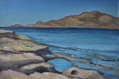 «Хараки. Каменный берег», июнь 2014, к/м, 30х40