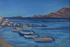 «Хараки. Лодки», июнь 2014, к/м, 30х40