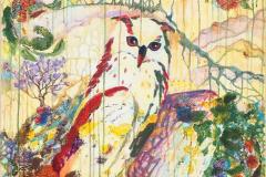 «Дух Леса 2», 2018, х/акрил, 95х70