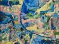 «Атлантида», 2000, х/темпера, 80х60
