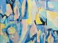 «Небо в бутылках», 2001, х/м, 98х90