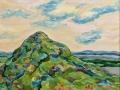 «Гора 2», 2004, х/м, 70х90