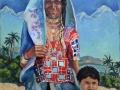 «Карнатака леди», 2009, х/м, 100х80