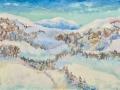 «Зима в горах», 2011, х/м, 60х80