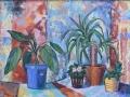 «Из жизни растений 1», 2011, х/м, 50х70