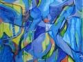 «Небесные девы», 2012, х/а, 100х80